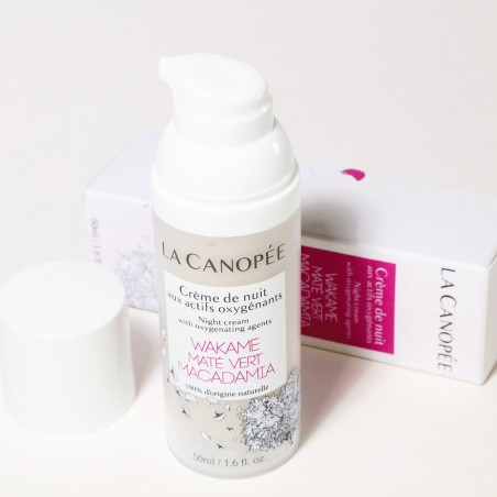 La Canopée - Crème visage de nuit aux actifs oxygénants - Vegan & 100% naturelle - Select store Cosmétiques Vegans