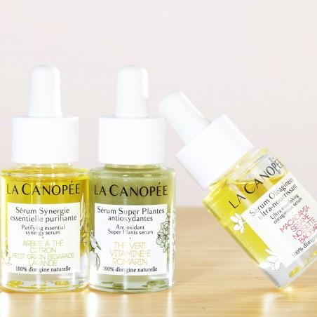 La Canopée - Sérum Visage Super Plantes antioxydantes - Vegan & 100% Naturelle - Select store Cosmétiques Vegans