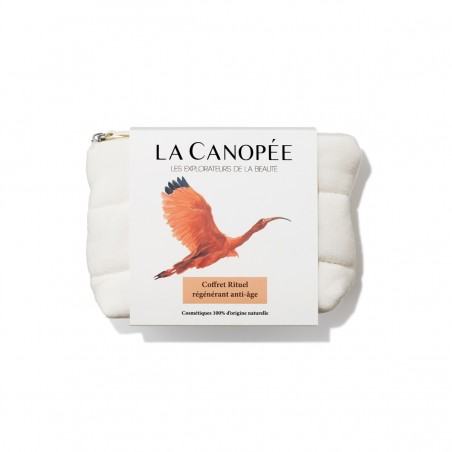 La Canopée - Coffret Rituel Visage Régénérant Anti-âge - Vegan & 100% Naturelle - Select store Cosmétiques Vegans
