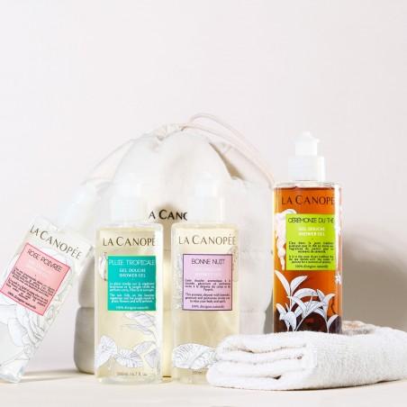 La Canopée - Gel douche Cérémonie du thé - Vegan & 100% Naturelle - Select store Cosmétiques Vegans