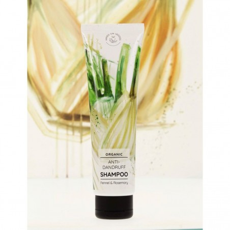 Hands on veggies - Shampoing Anti-Pelliculaire Fenouil & Romarin - Vegan & Bio - Select Store éthique Cosmétiques Vegans