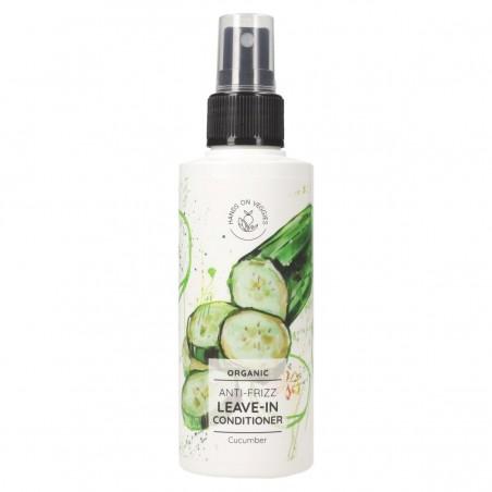 Hands on Veggies - Spray soin Anti-frisottis Concombre - Vegan & Bio - Select Store éthique Cosmétiques Vegans