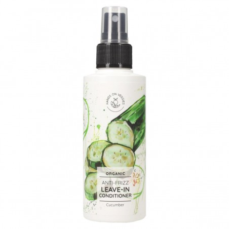 Spray soin Anti-frisottis - Concombre - 150 ml - Vegan, Naturelle & Bio - Select Store Cosmétiques Vegans