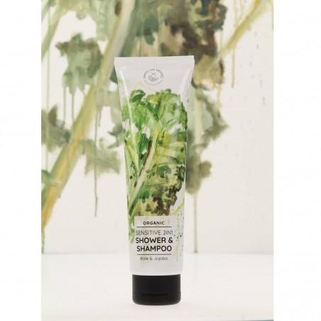 Hands on veggies - Shampoing Gel douche 2 en 1 - Vegan, Naturelle & Bio - Select Store Cosmétiques Vegans