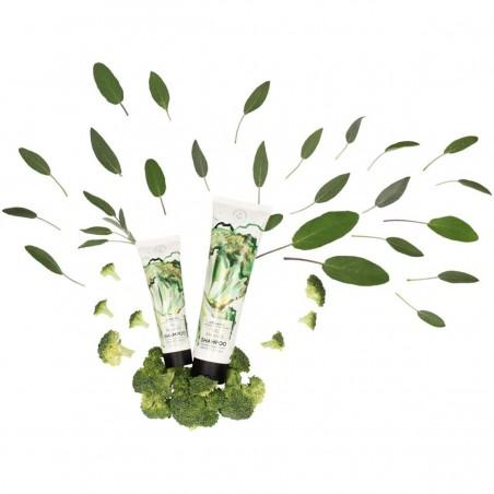 Hands on veggies - Shampoing Cheveux Gras - Brocoli & Sauge - Vegan & Bio - Select Store éthique Cosmétiques Vegans