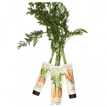 Hands on Veggies - Gel Douche Énergisant Carotte & Ylang-ylang - Vegan & Bio - Select Store éthique Cosmétiques Vegans