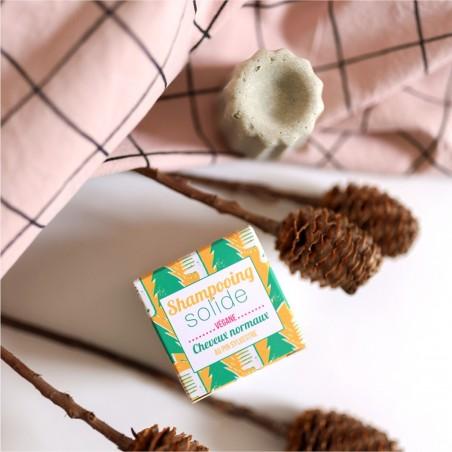 Lamazuna - Shampoing Solide - Cheveux Normaux - Pin Sylvestre - Vegan, Bio & Zéro Déchet - Select Store Cosmétiques Vegans