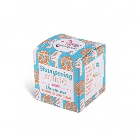 Lamazuna - Shampoing Solide - Cheveux Secs - Orange & Huile d'Argan - Vegan, Bio & Zéro Déchet - Select Store Cosmétiques Vegans