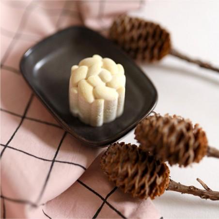 Lamazuna - Beurre de cacao solide - Parfum Frangipanier- Vegan, Bio & Zéro Déchet - Select Store Cosmétiques Vegans