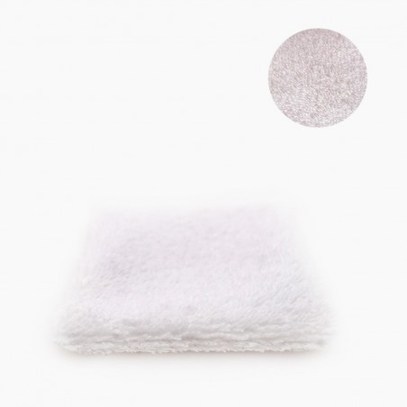 Petit Carré Français - Lingette en Coton bio lavable - Salle de bain Eco-Responsable & Zéro Déchet - Cosmétiques Vegans