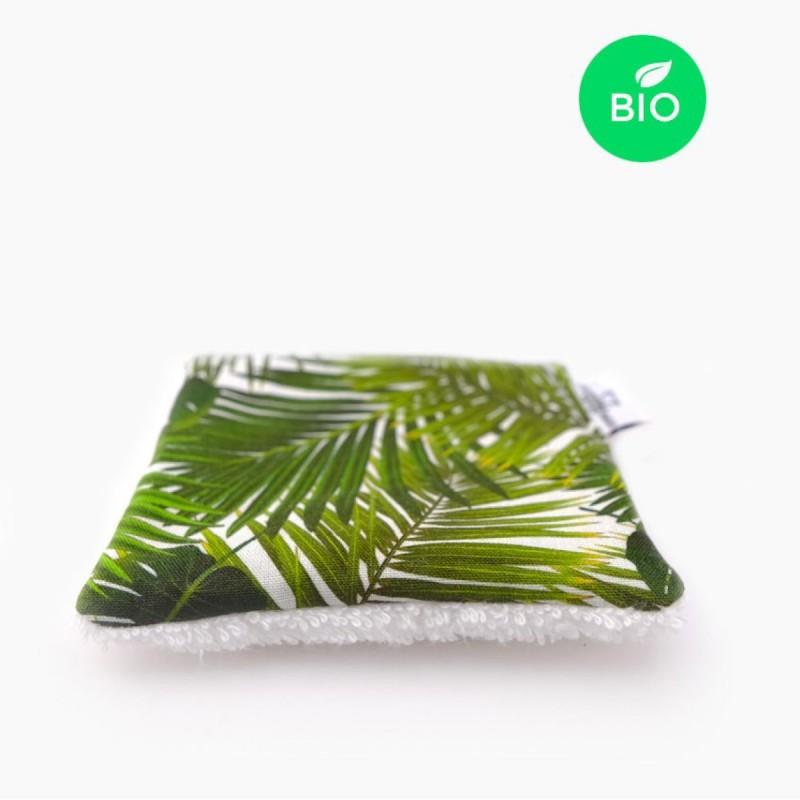 Petit Carré Français - Lingette Multi Usage Lavable - Coton Bio Tropical - Eco-Responsable & Zéro Déchet - Cosmétiques Vegans