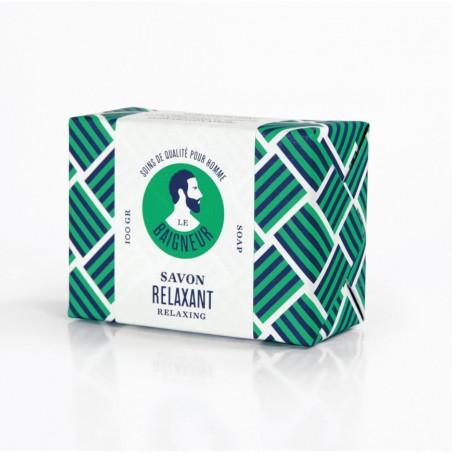 Le Baigneur - Savon solide pour homme - Relaxant - Vegan, Bio & Zéro déchet - Select Store Cosmétiques Vegans