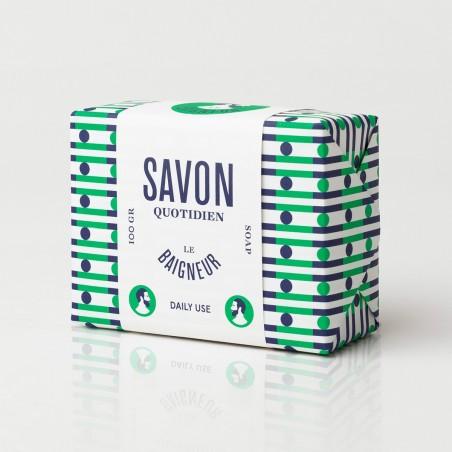 Le Baigneur - Savon Solide pour homme - Surgras - Vegan, Bio et Fabriqué en France - Select Store Cosmétiques Vegans