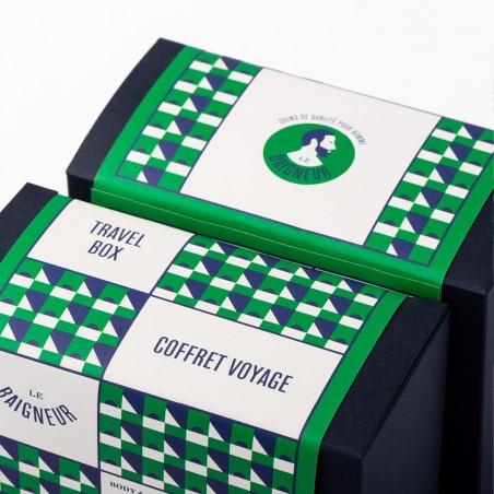 Le Baigneur - Coffret pour Homme - Kit Nécessaire de toilette - Vegan & Bio - Select Store Cosmétiques Vegans
