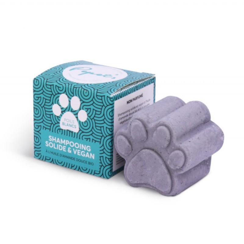 Shampoing Solide - Chien, Chat & Animaux de compagnie - Poils Blancs - Vegan & Naturel - Select store éthique Cosmétiques Vegans