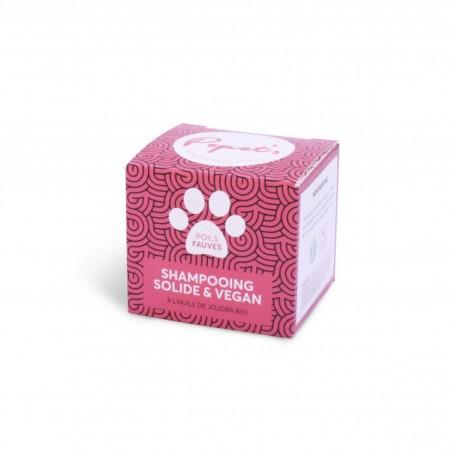 Shampoing Solide - Chien, Chat & Animaux de compagnie - Poils Fauves - Vegan & Naturel - Select store éthique Cosmétiques Vegans