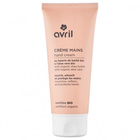 Avril - Crèmepour les mains - Karité & Aloe Vera - Naturel, Vegan & Bio - Select Store Cosmétiques Vegans