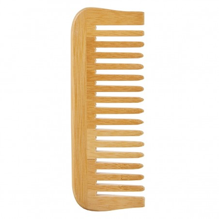 Avril - Peigne en Bambou Large - Accessoire salle de bain pratique et économique - Select Store Cosmétiques Vegans