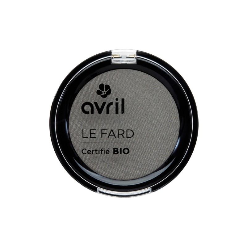 Avril - Fard à Paupières Gris Anthracite Mat - Maquillage Bio et Végan - Select Store Cosmétiques Vegans