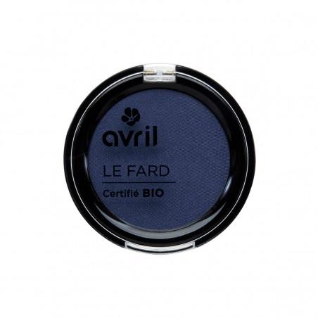 Avril - Fard à Paupières Bleu de Minuit Irisé - Maquillage Bio et Végan - Select Store Cosmétiques Vegans