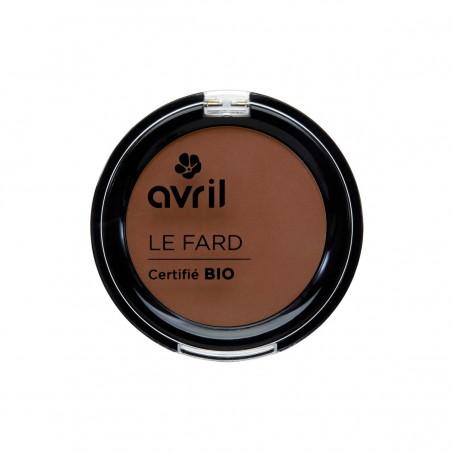 Avril - Fard à Paupières Canelle Mat - Maquillage Bio et Végan - Select Store Cosmétiques Vegans