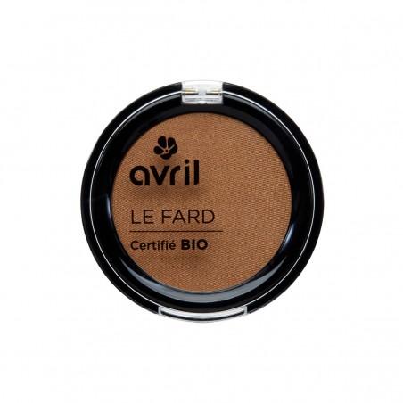 Avril - Fard à Paupières Cuivre Irisé - Maquillage Bio et Végan - Select Store Cosmétiques Vegans