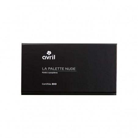 Avril - Palette, Fards à paupières Nude - 6 coloris - Naturel, Vegan & Bio - Select Store Cosmétiques Vegans