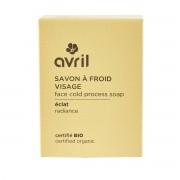 Avril - Savon solide Visage saponifié à Froid - Eclat - Naturel, Vegan & Bio - Select Store Cosmétiques Vegans