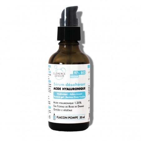 Clémence & Vivien - Sérum Hydratant à l'Acide Hyaluronique - Vegan & Naturel - Select Store Cosmétiques Vegans