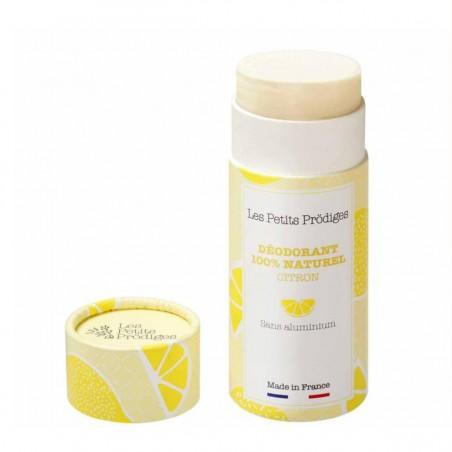 Les Petits Prodiges - Déodorant stick - Citron & Bergamote - Vegan & Naturel - Select store éthique Cosmétiques Vegans
