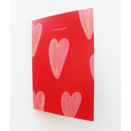 Papeterie Française Season paper - Carte Amour - Lifestyle & Fabriqué en France - Select Store Cosmétique Vegans