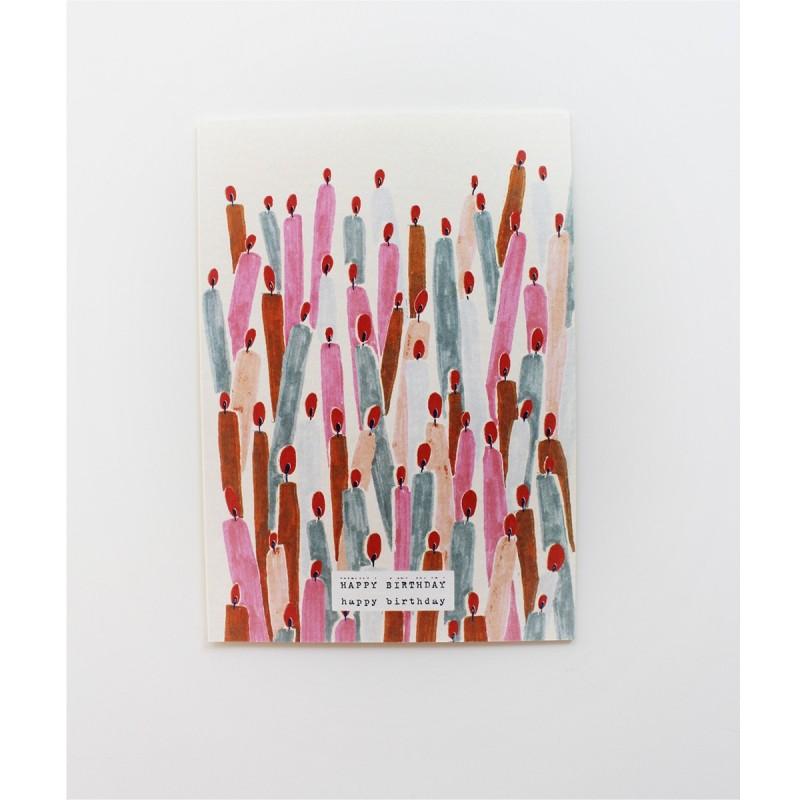 Papeterie Française Season paper - Carte Annviersaire - Lifestyle & Fabriqué en France - Select Store Cosmétique Vegans