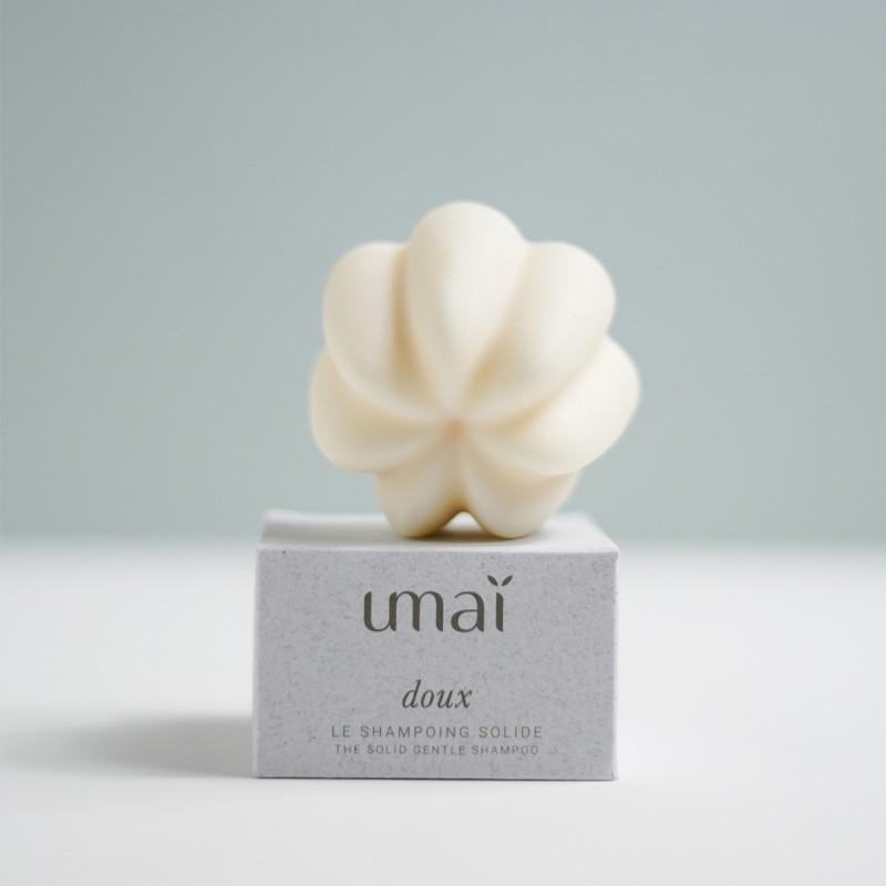 UMAI - Shampoing Solide Doux - Naturel & Zéro déchet - Select store éthique Cosmétiques Vegans