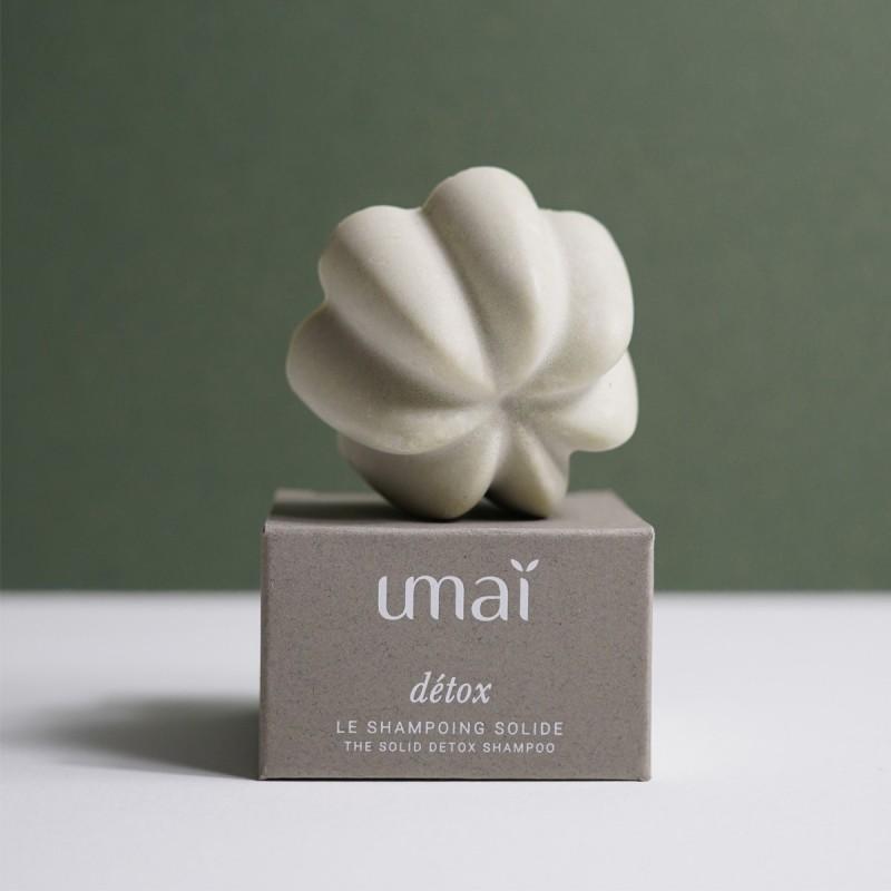 UMAI - Shampoing Solide Détox - Naturel & Zéro déchet - Select store éthique Cosmétiques Vegans