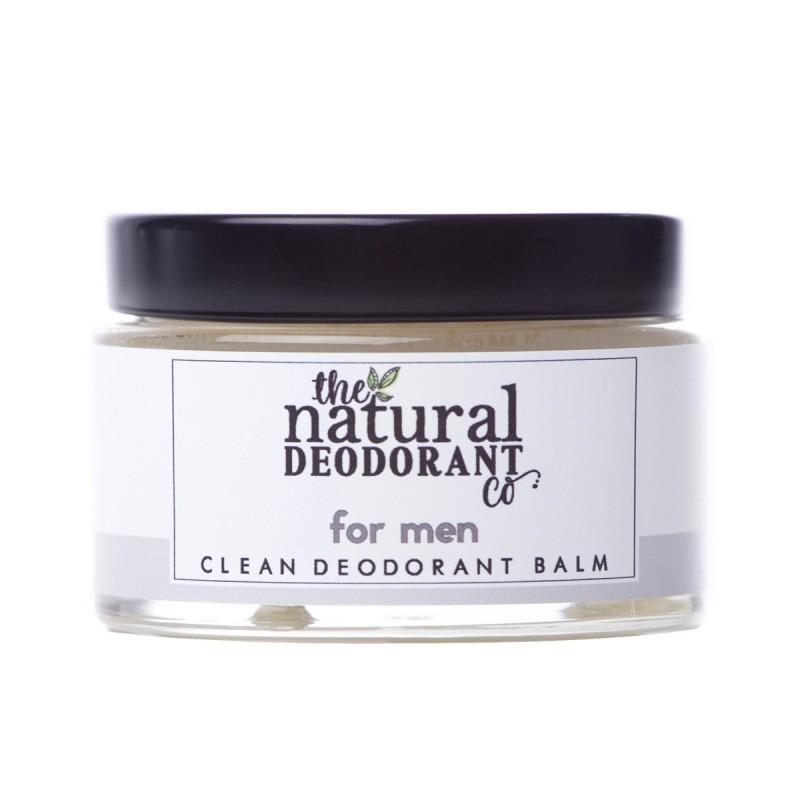 The Natural Deodorant Co - Déodorant Clean pour Homme - Zéro déchet, Vegan & 100% Naturelle - Select store Cosmétiques Vegans