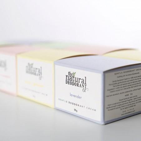 The Natural Deodorant Co - Déodorant Crème - Zéro déchet, Vegan & 100% Naturelle - Select store Cosmétiques Vegans