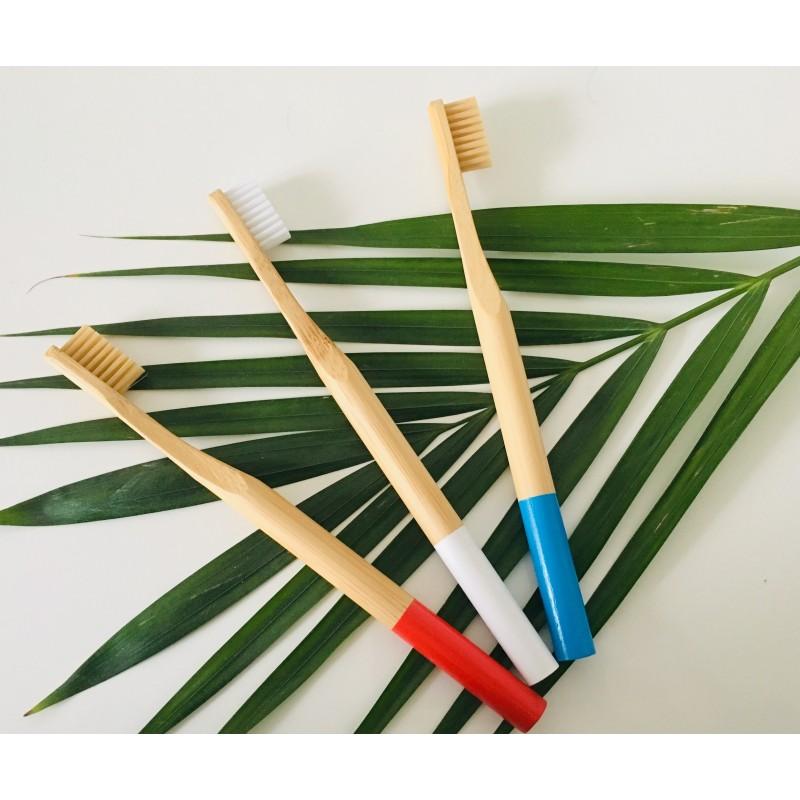 Brosse à Dent Souple en Bambou. Biodégradable, Ecologique, Végan.