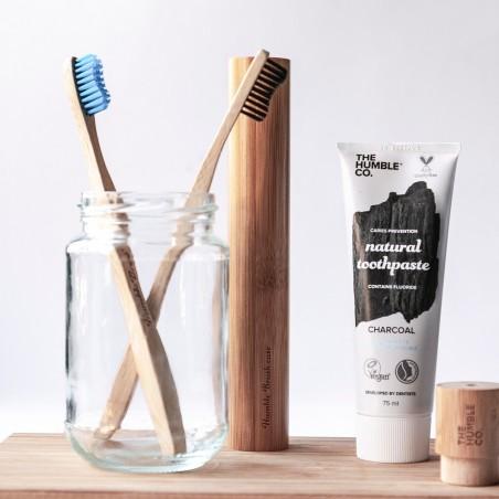 The Humble - Dentifrice naturel au charbon de bois avec fluor - Vegan & Naturel - Select store Cosmétiques Vegans