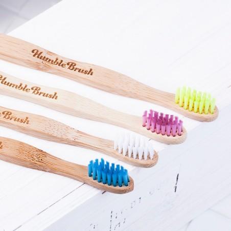 The Humble - Brosse à dent ultra-soft pour enfant en Bambou - Zéro déchet & Vegan - Select store Cosmétiques Vegans