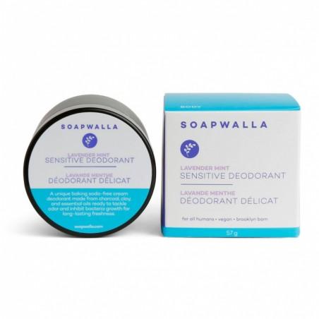 Soapwalla - Déodorant Crème Bio, Naturel & Vegan - Spécial Peau Sensible - Select store éthique Cosmétiques Vegans
