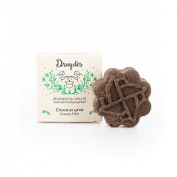 Druydès - Shampoing Solide Bio - Cheveux Gras - Huile de Nigelle - Vegan, Bio & Zéro Déchet - Select Store Cosmétiques Vegans