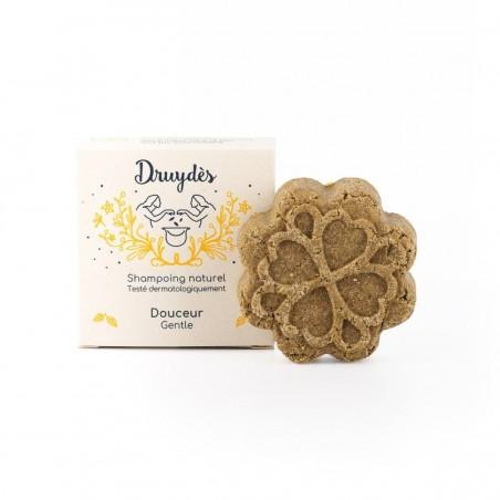 Druydès - Shampoing Solide Bio Douceur - Beurre de Cacao - Vegan, Bio & Zéro Déchet - Select Store Cosmétiques Vegans