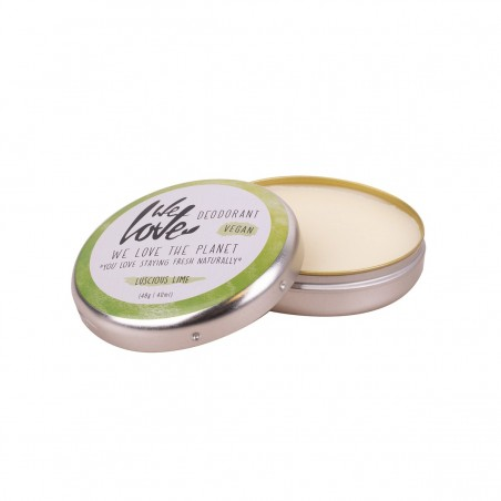 We Love the Planet - Déodorant Creme Liscious Lime - Zéro déchet, Vegan & 100% Naturelle - Select store Cosmétiques Vegans