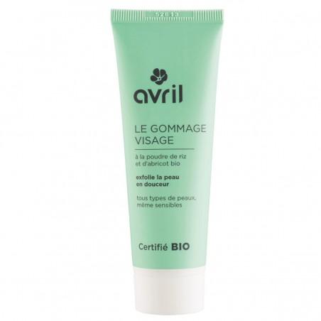 Avril - Gommage Visage - Vegan & Bio - Select Store Cosmétiques Vegans