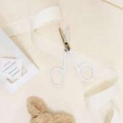 Ciseaux spécial bébé - Bout rond - Acier inoxydable
