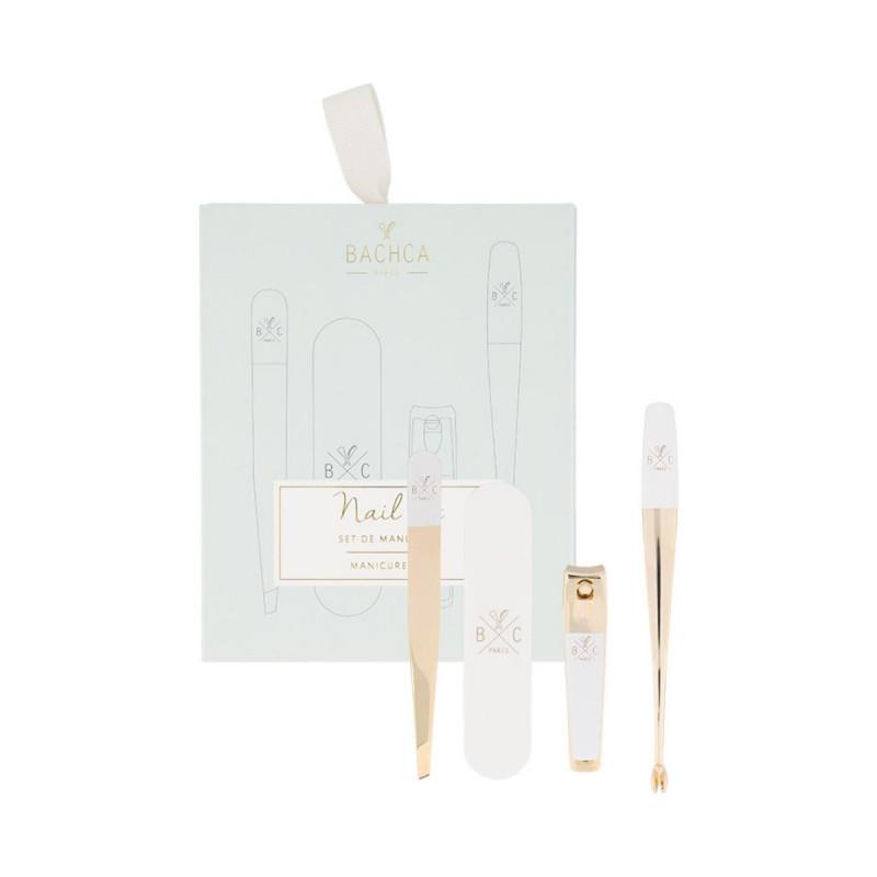 Bachca - Set de Manucure - Les 4 essentiels - Accessoire salle de bain & ongles - Select Store éthique Cosmétiques Vegans