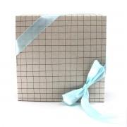 Boîte coffret cadeau - Carreaux Vert d'eau
