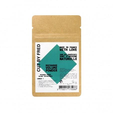 Cut by Fred - Recharge shampoing sec & Poudre texturisante rechargeable - Vegan - Select store éthique Cosmétiques Vegans