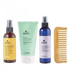 Avril - Coffret Routine Layering - Soin & Masque Douceur - Cheveux - Naturel, Vegan & Bio - Select Store Cosmétiques Vegans