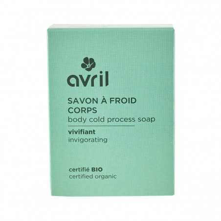 Avril - Savon solide saponifié à Froid - Vivifiant - Naturel, Vegan & Bio - Select Store Cosmétiques Vegans
